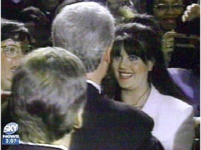 monica lewinsky bill clinton 400x299 Bill Clinton Predicted Martin OMalley Would Become President 10 Years Ago