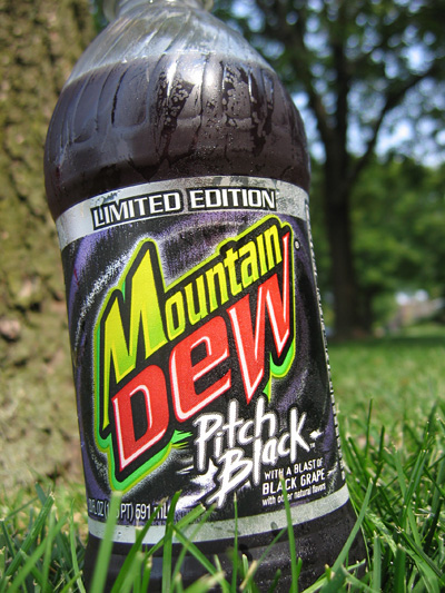 mountain dew pitch black 7 Fun Foods Banished   Do You Remember Them?