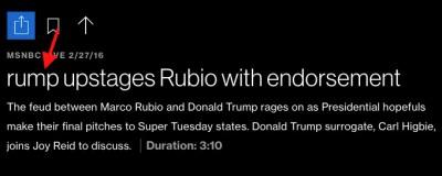msnbc rump trump headline error