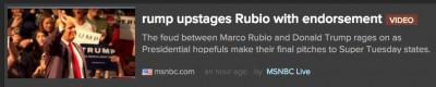 msnbc rump trump headline mishap