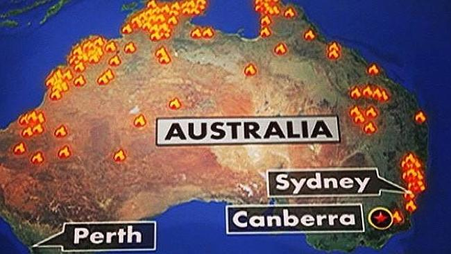 WHOOPS! NBC News Broadcasts Map Showing ALL Of Australia On ...