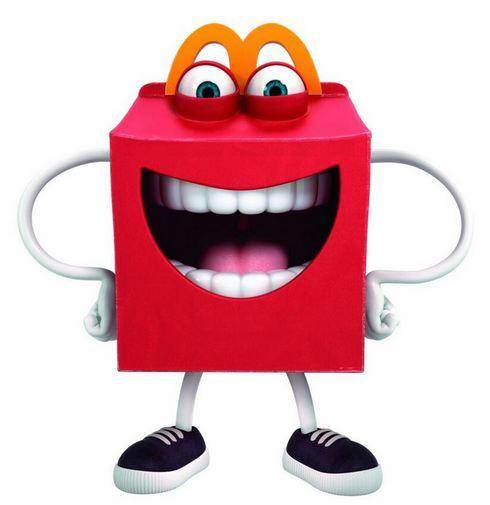 new mcdolnds mascot creepy teeth