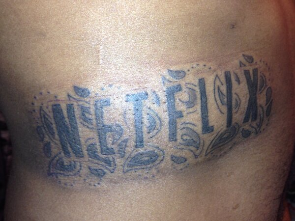 nexflix tattoo