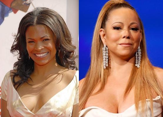 Nia Long and Mariah Carey same age, 43.