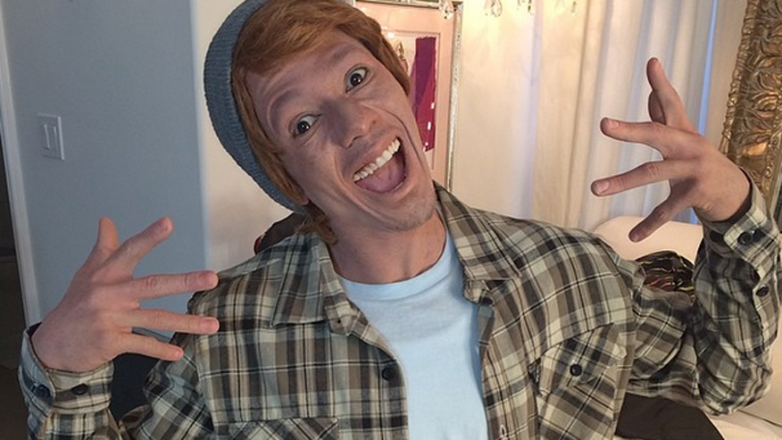 nick cannon white face instagram