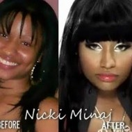 nicki minaj plastic surgery face 190x190 Nicki Minaj Before The Clown Makeup