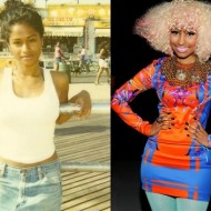 nicki minaj young 190x190 Nicki Minaj Before The Clown Makeup
