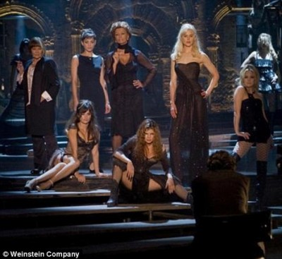 "nine whores 400x367 Penelope Cruz Steals Show in Film ""Nine"" with Sexy Burlesque"