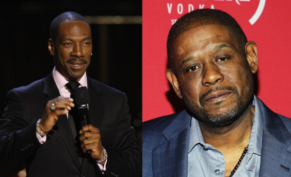 Eddie Murphy and Forest Whitaker same age, 53.