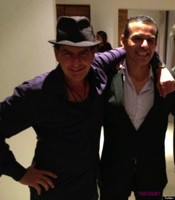 o CHARLIE SHEEN ANTONIO VILLARAIGOSA 570 Did Charlie Sheen And L.A. Mayor Antonio Villaraigosa Do Hookers In Mexico?