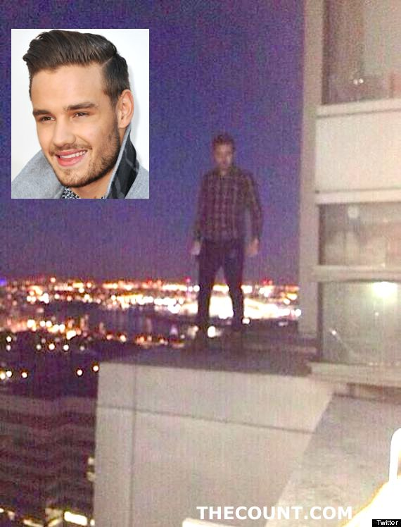 o LIAM PAYNE 570 One Direction Liam Payne SORRY For BUILDING LEDGE STUNT