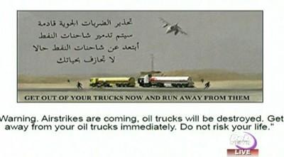 obama ISIS leaflets