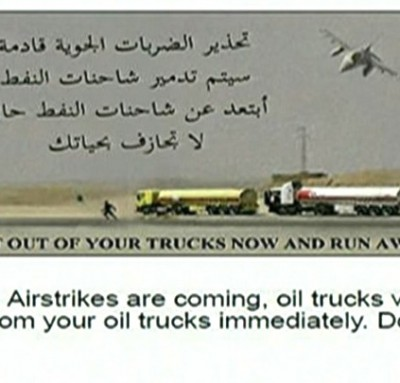 US Dropped This Leaflet Warning ISIS Fighters Of Impending Airstrike