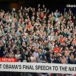 Obama Chicago Farewell Speech Audience White On Topic