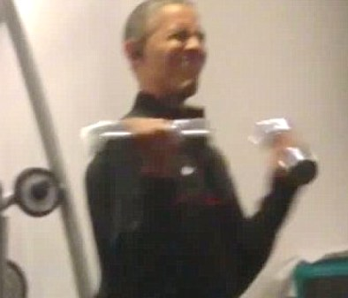 obama workout video