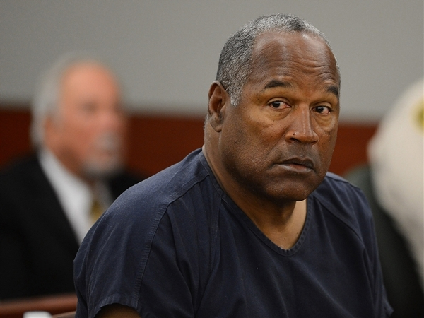 oj simpson hunger strike
