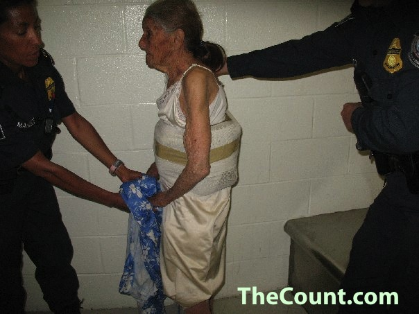 HLS Busts 98 Year Old GRANNY SMUGGLER! 11 LBS ON HER PERSON!