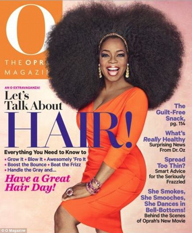 oprah afro OPRAH Worlds Biggest AFRO