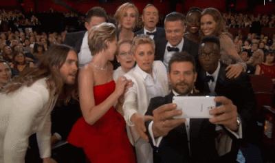oscars selfie gif