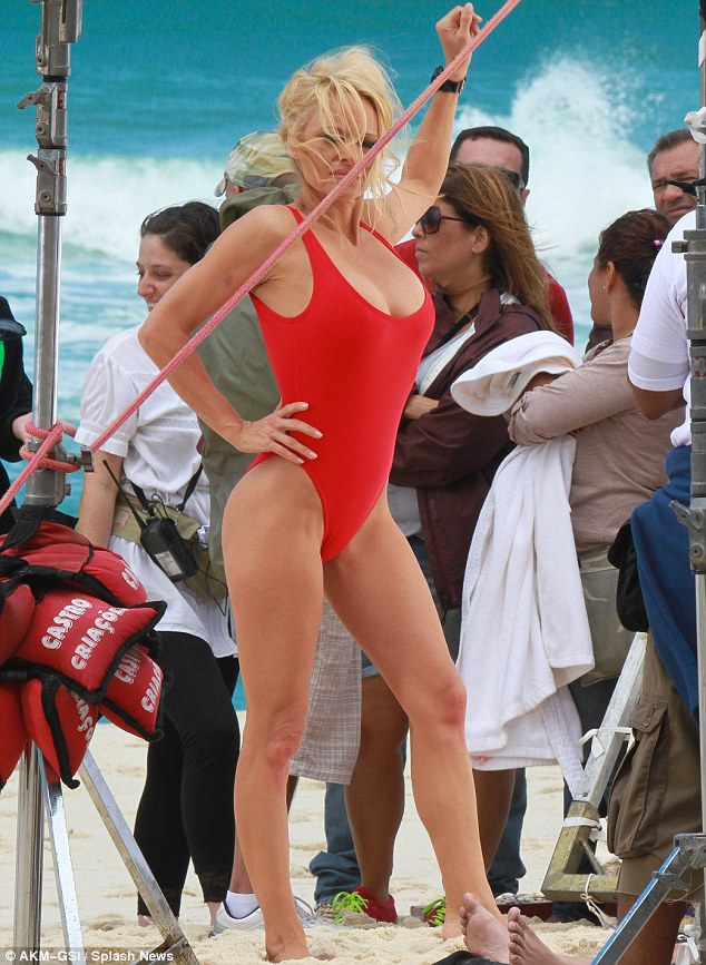 Pamela Anderson: BAYWATCH Yesterday And Today