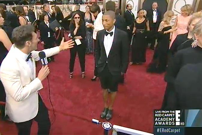 pharrell shorts tux