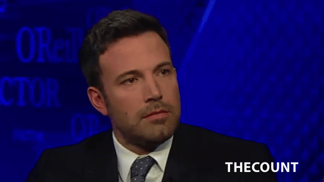 photo 312 Ben Affleck Appears On FOX NEWS OReilly Factor