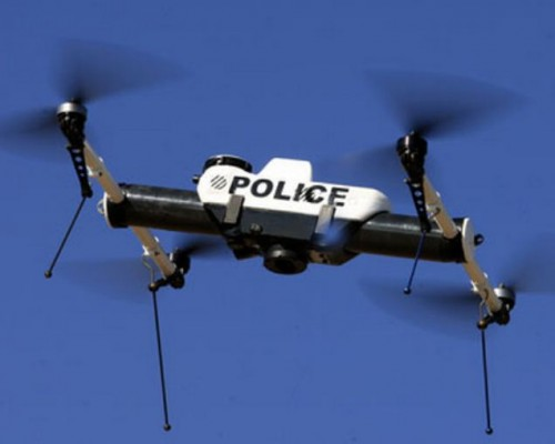 policedrone 500x400 Surrounded: List of American Organizations Registered to Fly Drones