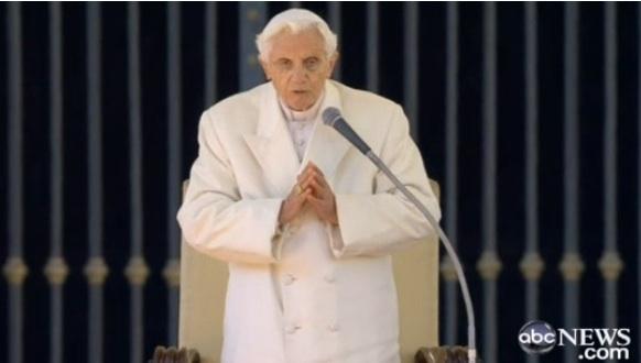 popes last addresss