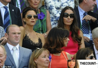 posh nighty 400x277 POSH SPICE Wears Nightie To Wimbledon