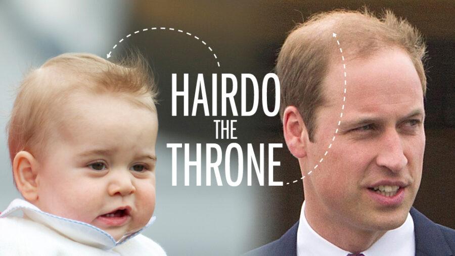 prince george hair