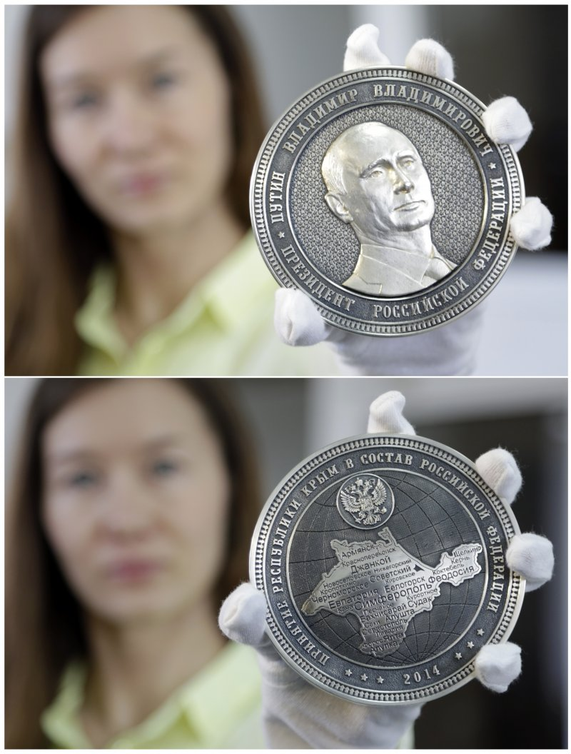 putin---crimea commemorative-coin