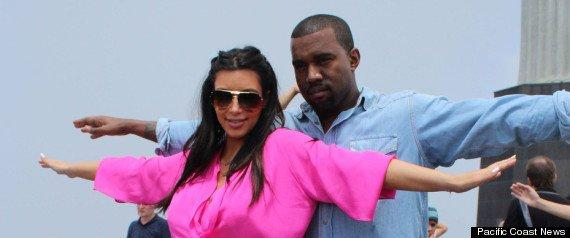 r KIM KARDASHIAN KANYE WEST JESUS large570 1 REPORT: Kim K Livid After Kanye West No Show To Hospital Pregnancy Scare
