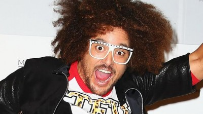 redfoo hit with bottle