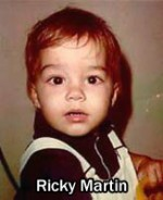 ricky martin kid pic 150x184 Awesome Celebrity Youth Pictures
