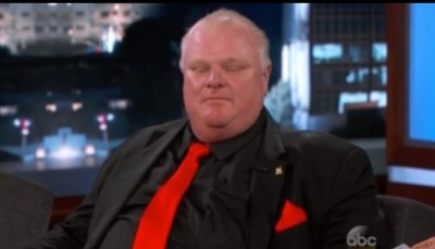 rob ford on kimmle