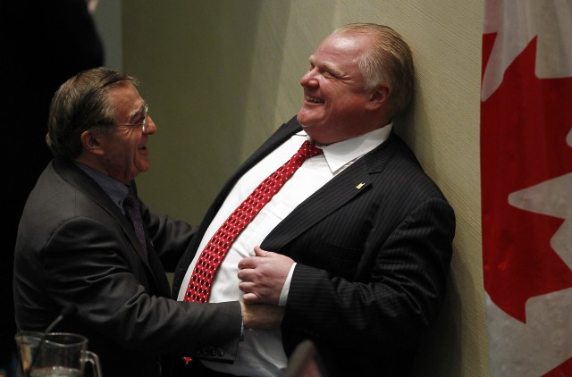 rob ford tickle