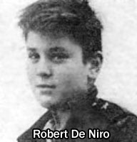 robert de niro youth Awesome Celebrity Youth Pictures