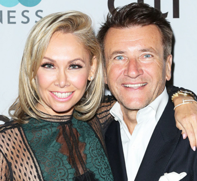 shark tank robert dating kym Kym johnson and robert herjavec have something to dance about.