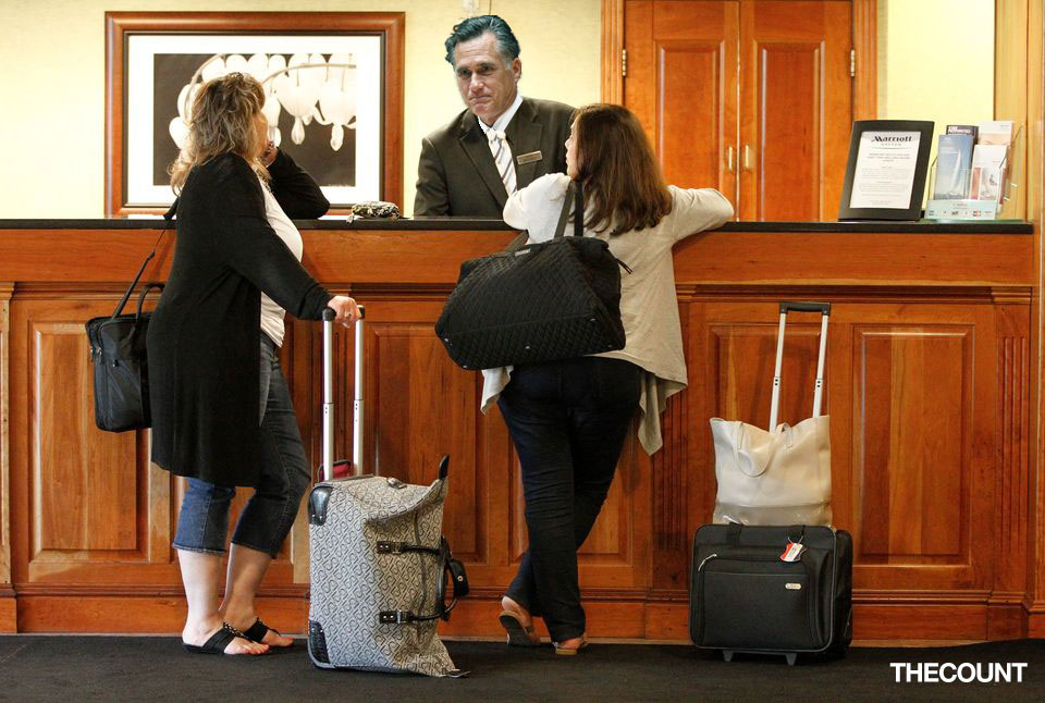 romney working for marriott meme Mitt Romney Gets A Job! At The MARRIOTT!