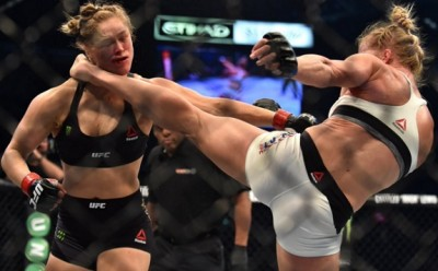ronda rousey holy holm knockout