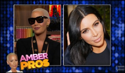 Amber Rose doesn't want to discuss Kardashian family