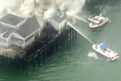 rubys diner fire seal beach cause