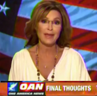 sarah palin trump interview oann 3 Website To Carry Sarah Palin Trump Interview CRASHES Over HUGE Demand