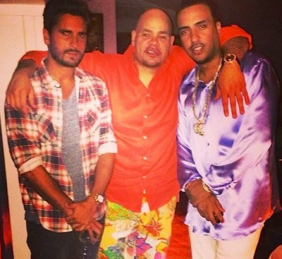 scott-disick-French Montana Fat Joe