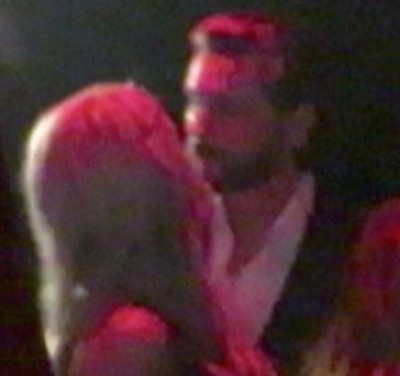 scott disick kissing mystery blonde 3