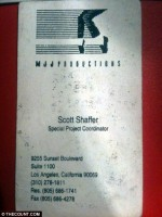 scott shaffer businesscard1 150x200 EXCLUSIVE: Michael Jackson Movie Supplier Claims Extortion