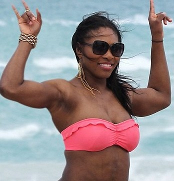 serena williams is big boned11 e1407974653941 Serena Williams BIKINI Reveals Amazing Weight Loss