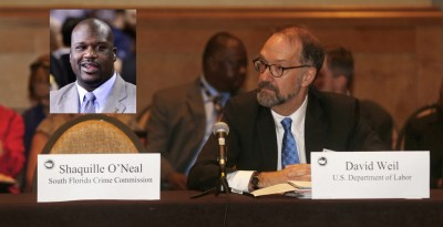 shaq no show U.S. Conference of Mayors