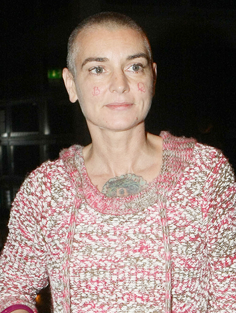 sinead-oconnor-face tattoos
