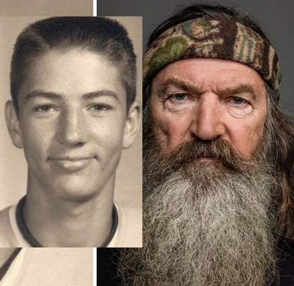 slide13 ytv DuckDynasty ThenAndNow Phil jpg 0000081 Duck Dynasty Phil Robertson FIRED Over Anti Gay Comments